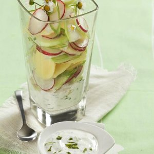recept jarní salát
