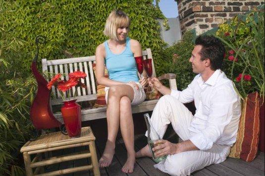 muž žena víno