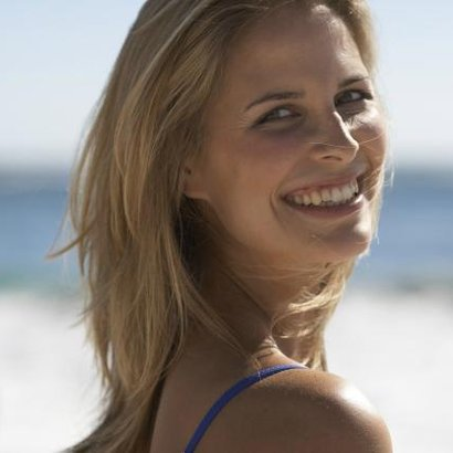 žena úsměv