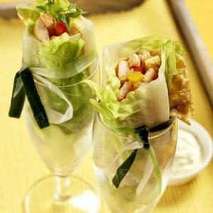 menu salát rolky