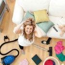 žena jarní úklid domácnost