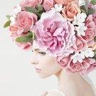 zena kvetiny