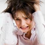 žena stres