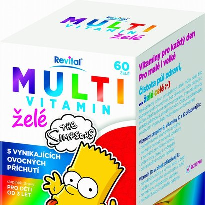 Revital Multi vitamin želé