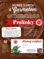 Kurz vaření s Gurmetem: PRALINKY
