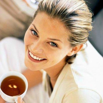 žena čaj